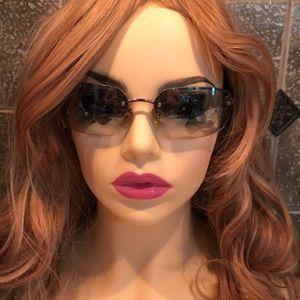 "COACH 💙 ""Julia"" Sunglasses blue/silver flash"